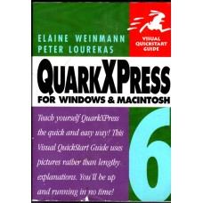 Quark Express for Windows and Macintosh, Elaine Weinmann, used book