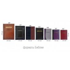 Форматы Библий