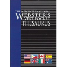 The new international Websters vest pocket treasurus