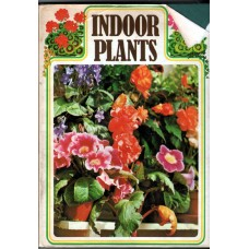 Indoor plants, used book