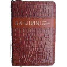 Библия под крокодила кожу, позолота, замок, словaрь